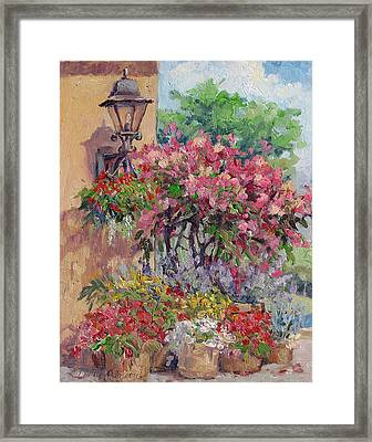 Taste Of Italy Framed Print by L Diane Johnson