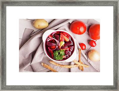 Taste Of Russia 2 Framed Print by Vadim Goodwill