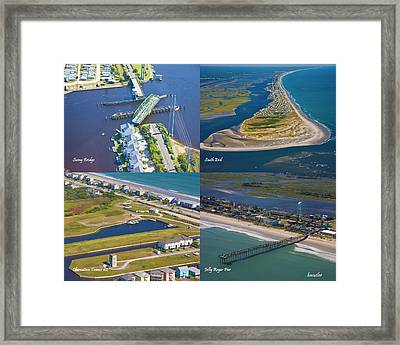 Taste Of Topsail Framed Print by Betsy Knapp