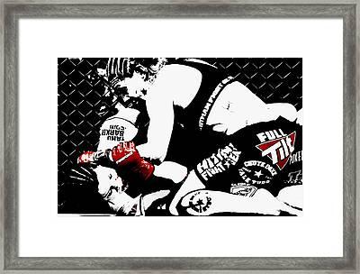 Taste Of Blood Framed Print