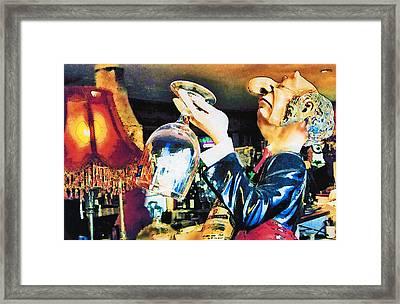 Tasting Framed Print by Margaret Hood