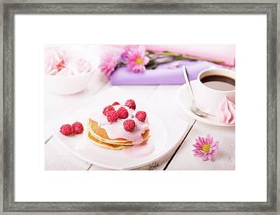 Tasty Pancakes  Framed Print by Vadim Goodwill