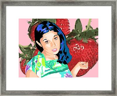 Tasty Framed Print by Sarah Crumpler