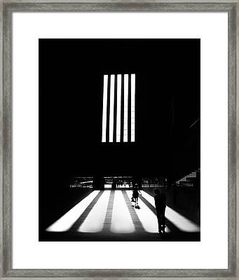 Framed Print featuring the photograph Tate Modern by Art Shimamura