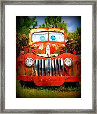 Tater Framed Print