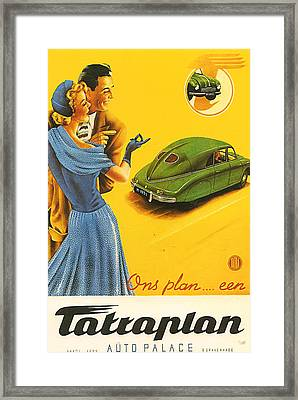Tatraplan Framed Print by Georgia Fowler