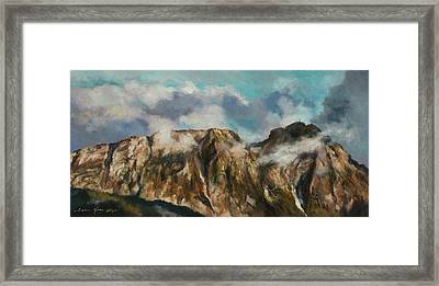 Tatry Mountains- Giewont Framed Print