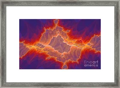 Tattered Framed Print