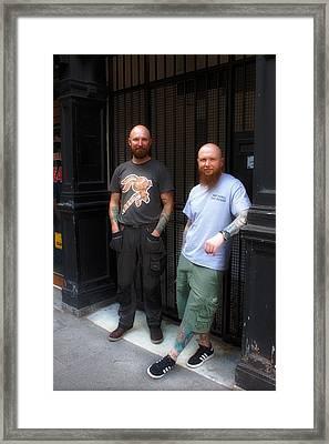 Tattoo Art Framed Print