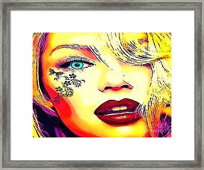 Tattooed Framed Print by Catherine Lott