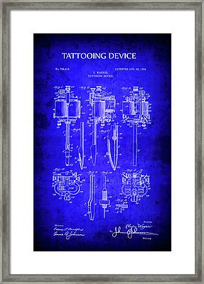Tattooing Device 1904 Framed Print