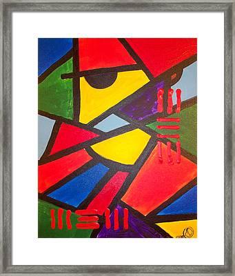 Tatu Framed Print by Malik Seneferu