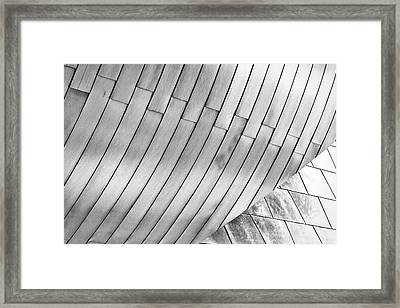 Taubman Museum Abstract Framed Print