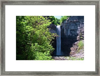 Taughannock Falls 0466 Framed Print