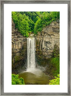Taughannock Falls 2 Framed Print by Steve Harrington
