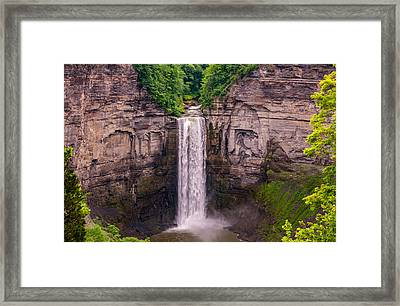 Taughannock Falls 4 Framed Print by Steve Harrington