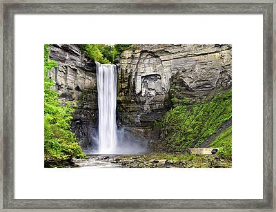 Taughannock Falls Gorge Framed Print by Christina Rollo
