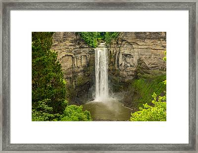 Taughannock Falls Framed Print by Steve Harrington