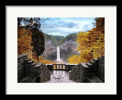 Ithaca Framed Prints
