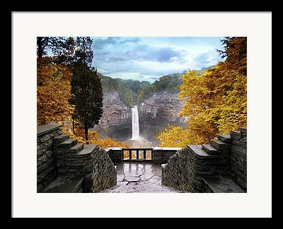 Ithaca Framed Prints