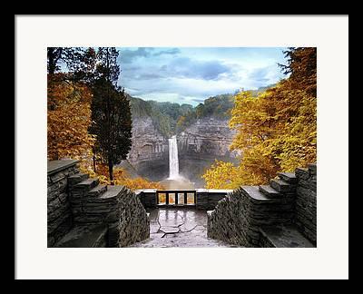 Finger Lakes Region Framed Prints