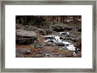 Taum Sauk Mountain  Framed Print