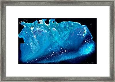 Taurus Running Framed Print by Lee Pantas