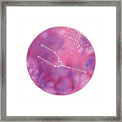 Taurus Framed Print by Stephie Jones