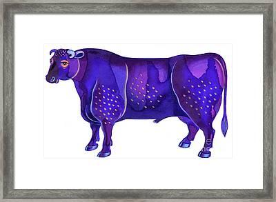 Taurus The Bull Framed Print