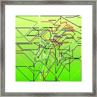 Tawlmvan Framed Print by Qq Qqq