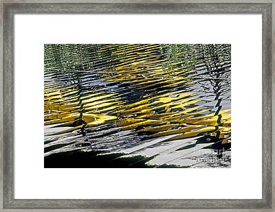 Taxi Abstract Framed Print