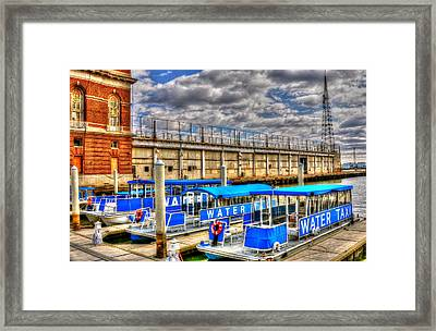 Taxi Framed Print by Debbi Granruth