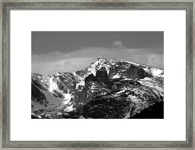 Framed Print featuring the photograph Taylor Peak by Perspective Imagery