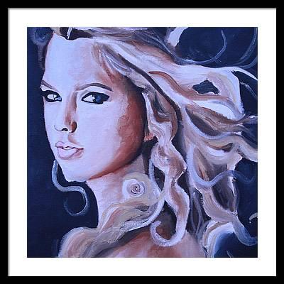 Taylor Swift Framed Prints