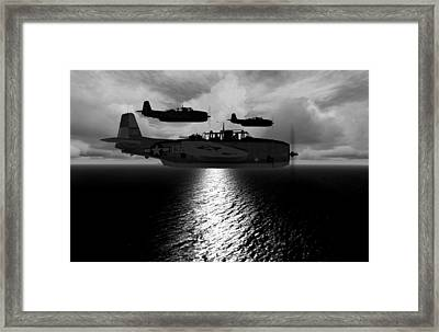 Tbf Formation Framed Print