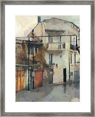 Tbilisi Old Streets 1 Framed Print by Yury Malkov