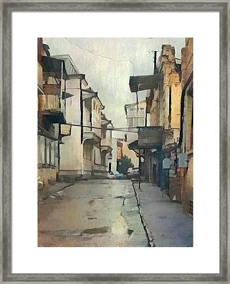 Tbilisi Old Streets 2 Framed Print