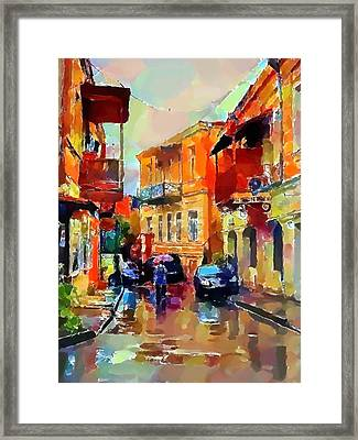 Tbilisi Old Streets 3 Framed Print