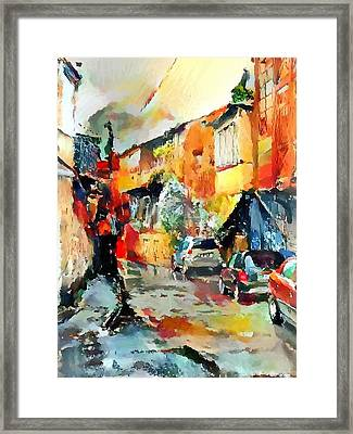 Tbilisi Old Streets 4 Framed Print