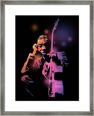 Tbone Walker Framed Print by Paul Sachtleben