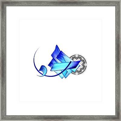 Tcm Calligraphy 33 3 Framed Print by Team cATF