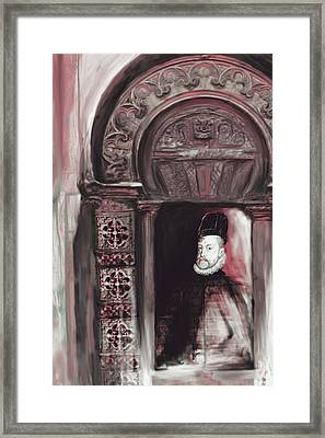 Tcm Spanish 159 3  Framed Print by Mawra Tahreem