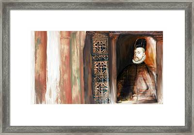 Tcm Spanish 159 5 Framed Print by Mawra Tahreem