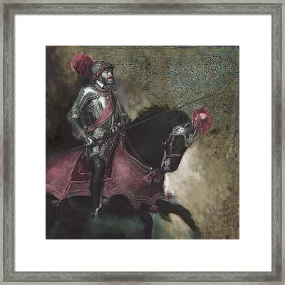 Tcm Spanish 161 3  Framed Print by Mawra Tahreem