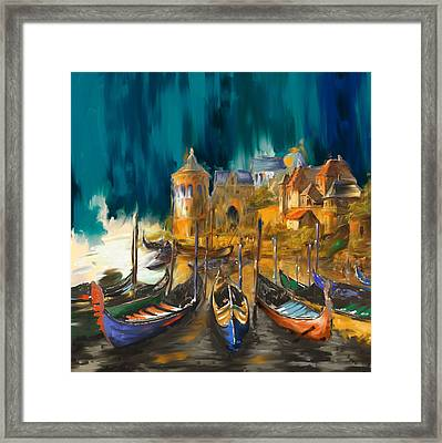 Tcm Spanish 165 Framed Print by Mawra Tahreem