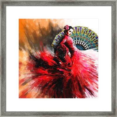 Tcm Spanish 166 Framed Print by Mawra Tahreem