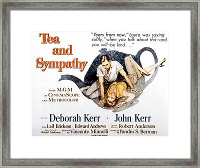 Tea And Sympathy, John Kerr, Deborah Framed Print by Everett