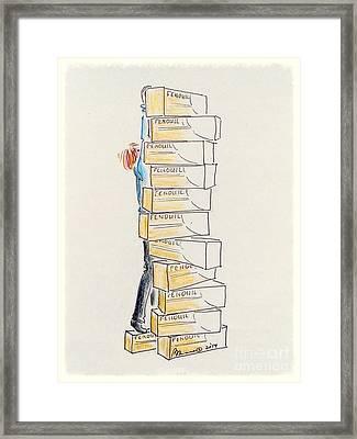 Tea Anyone? Framed Print by Barbara Chase