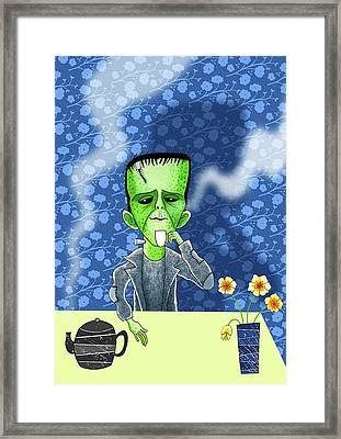 Tea Break  Framed Print by Andrew Hitchen