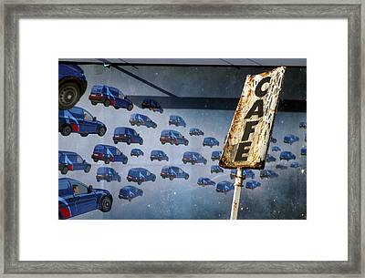 Tea Break Framed Print by Jez C Self